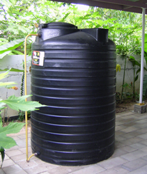 Green Plastic Water Tank