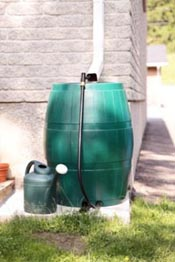 rainbarrel gutter, rain barrel intro