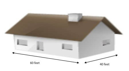 house square feet calculation